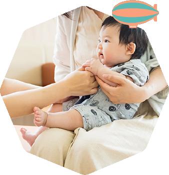 お子さまとご家族に寄り添い、安心して治療を続けていただけるように。